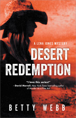 Betty Webb signs DESERT REDEMPTION @ The Poisoned Pen Bookstore