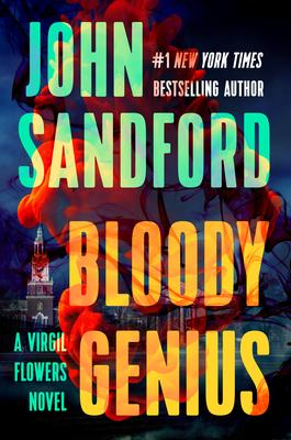John Sandford signs BLOODY GENIUS @ The Poisoned Pen Bookstore