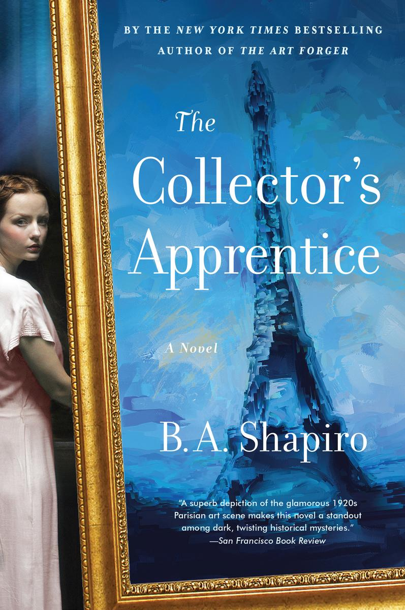 B.A. Shapiro signs THE COLLECTOR'S APPRENTICE @ The Poisoned Pen Bookstore