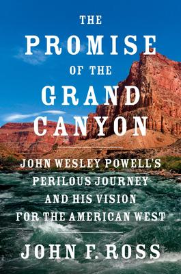 John F Ross signs THE PROMISE OF THE GRAND CANYON @ The Poisoned Pen Bookstore