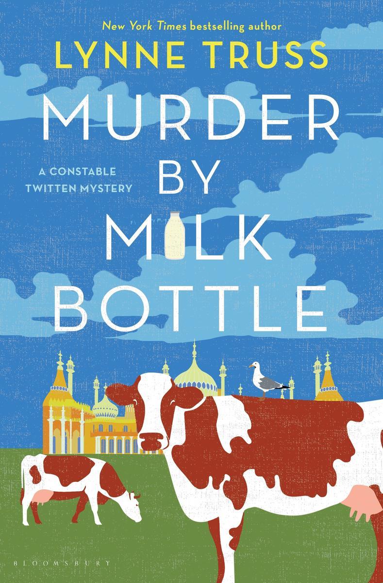 Lynn Truss discusses Murder by Milk Bottle @ Virtual Event