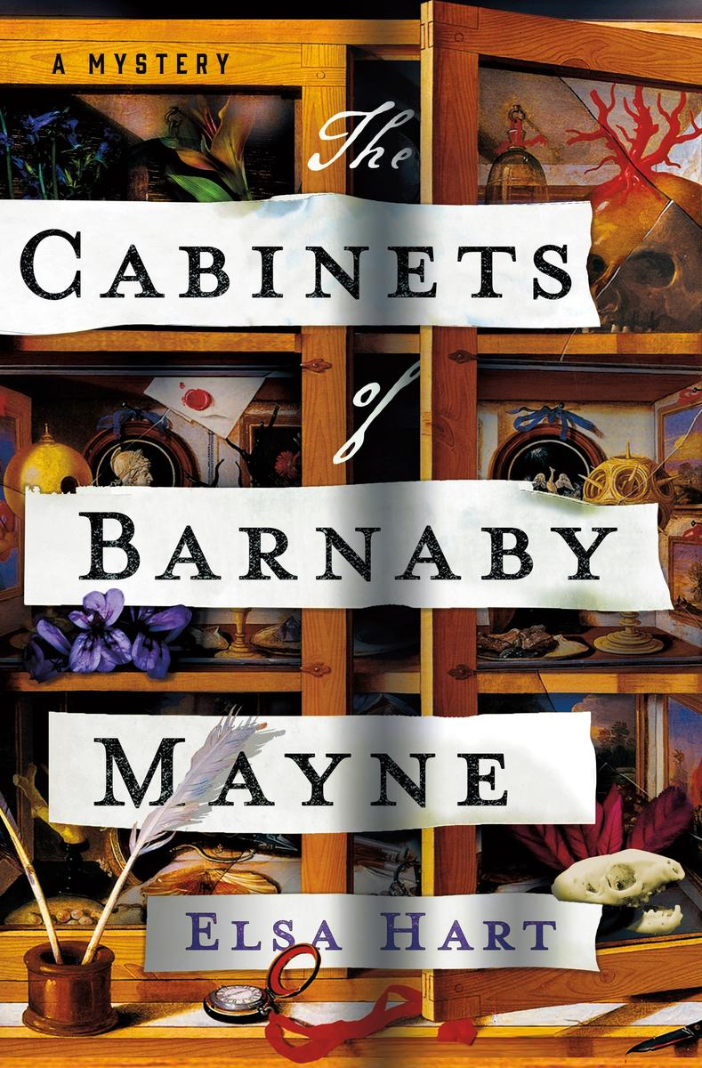 Virtual Event: Elsa Hart discusses The Cabinets of Barnaby Mayne with special guest host, Douglas Preston @ The Poisoned Pen Bookstore