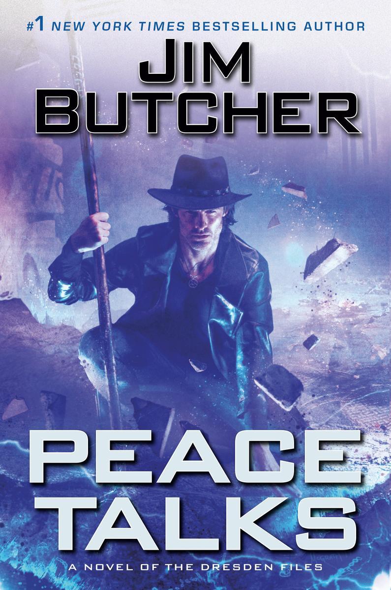 Virtual Event: Jim Butcher discusses Peace Talks @ The Poisoned Pen Bookstore