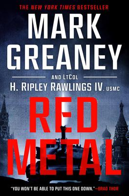 Mark Greaney and Lt. Col. H Ripley Rawlings IV, USMC sign RED METAL @ The Poisoned Pen Bookstore