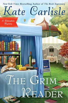 Virtual Event: Kate Carlisle discusses THE GRIM READER @ The Poisoned Pen Bookstore