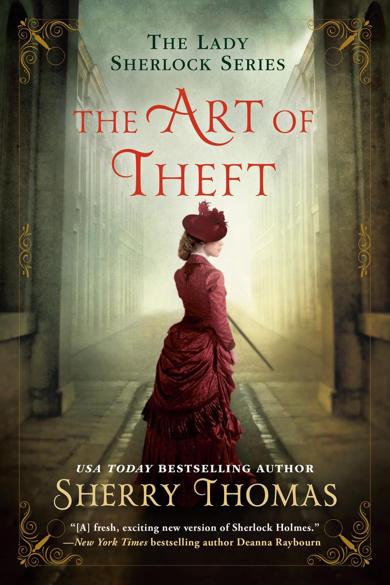 Sherry Thomas signs THE ART OF THEFT @ The Poisoned Pen Bookstore