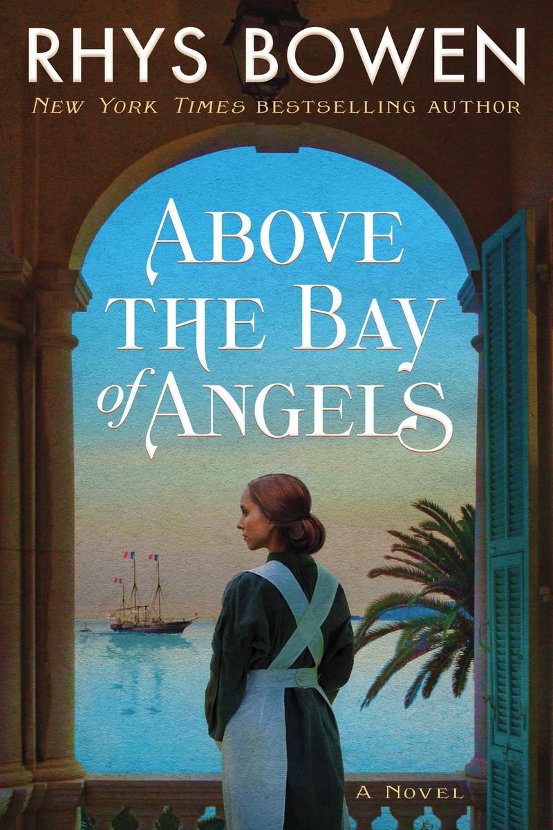 Rhys Bowen signs ABOVE THE BAY OF ANGELS @ The Poisoned Pen Bookstore