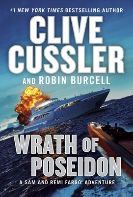 Virtual Event: Robin Burcell discusses Clive Cussler's THE WRATH OF POSEIDON @ The Poisoned Pen Bookstore