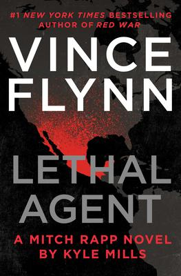 Kyle Mills signs VINCE FLYNN LETHAL AGENT @ The Poisoned Pen Bookstore