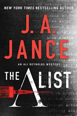 J.A. Jance signs THE A LIST @ The Poisoned Pen Bookstore