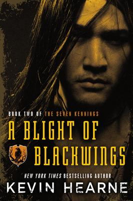 Kevin Hearne signs A BLIGHT OF BLACKWINGS @ The Poisoned Pen Bookstore
