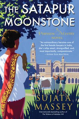 Sujata Massey signs THE SATAPUR MOONSTONE @ The Poisoned Pen Bookstore