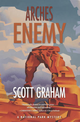 Scott Graham signs ARCHES ENEMY @ The Poisoned Pen Bookstore