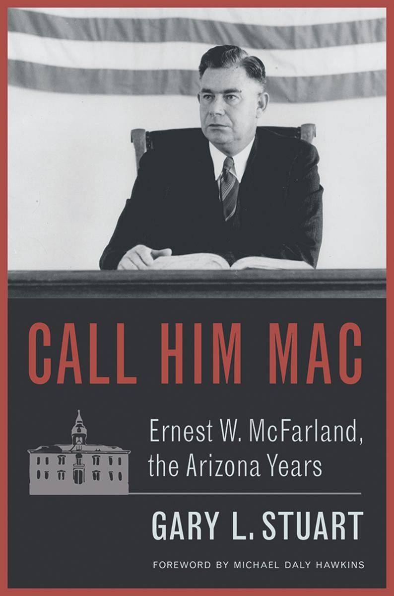 Gary L. Stuart signs CALL HIM MAC: ERNEST W MCFARLAND, THE ARIZONA YEARS @ The Poisoned Pen Bookstore  | Scottsdale | Arizona | United States