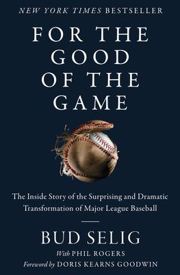 Bud Selig signs FOR THE GOOD OF THE GAME @ The Poisoned Pen Bookstore