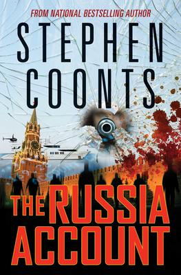 Stephen Coonts signs THE RUSSIA ACCOUNT @ The Poisoned Pen Bookstore