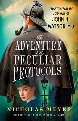 Nicholas Meyer signs THE ADVENTURE OF THE PECULIAR PROTOCOLS @ The Poisoned Pen Bookstore