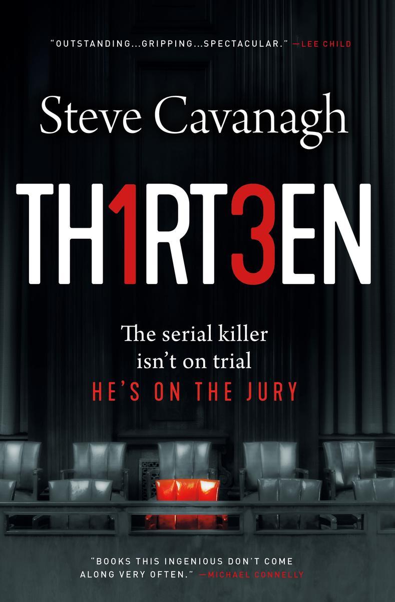 Steve Cavanagh signs THIRTEEN @ The Poisoned Pen Bookstore