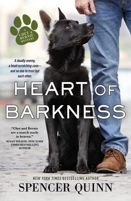 Spencer Quinn signs HEART OF BARKNESS @ The Poisoned Pen Bookstore
