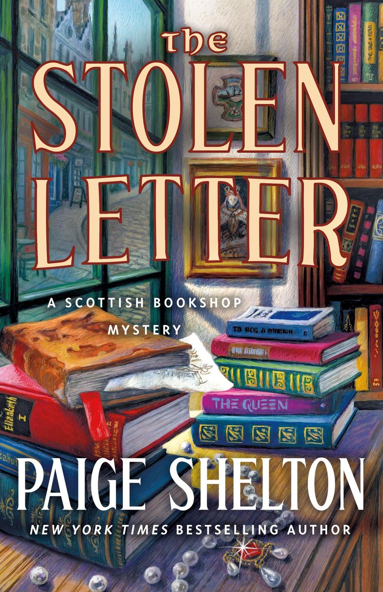 Virtual Book Launch! Paige Shelton discusses THE STOLEN LETTER @ The Poisoned Pen Bookstore