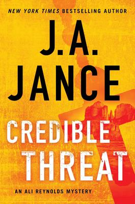 Virtual Event: J.A. Jance signs CREDIBLE THREAT @ The Poisoned Pen Bookstore