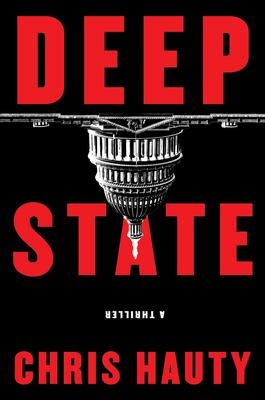 Chris Hauty signs DEEP STATE @ The Poisoned Pen Bookstore