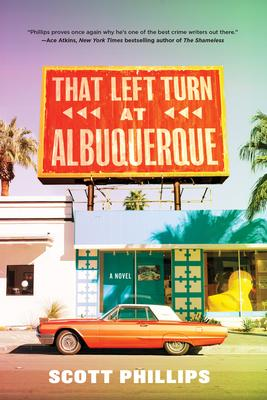 Scott Phillips signs THAT LEFT TURN AT ALBUQUERQUE @ The Poisoned Pen Bookstore