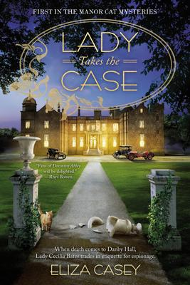 Eliza Casey signs LADY TAKES THE CASE @ The Poisoned Pen Bookstore